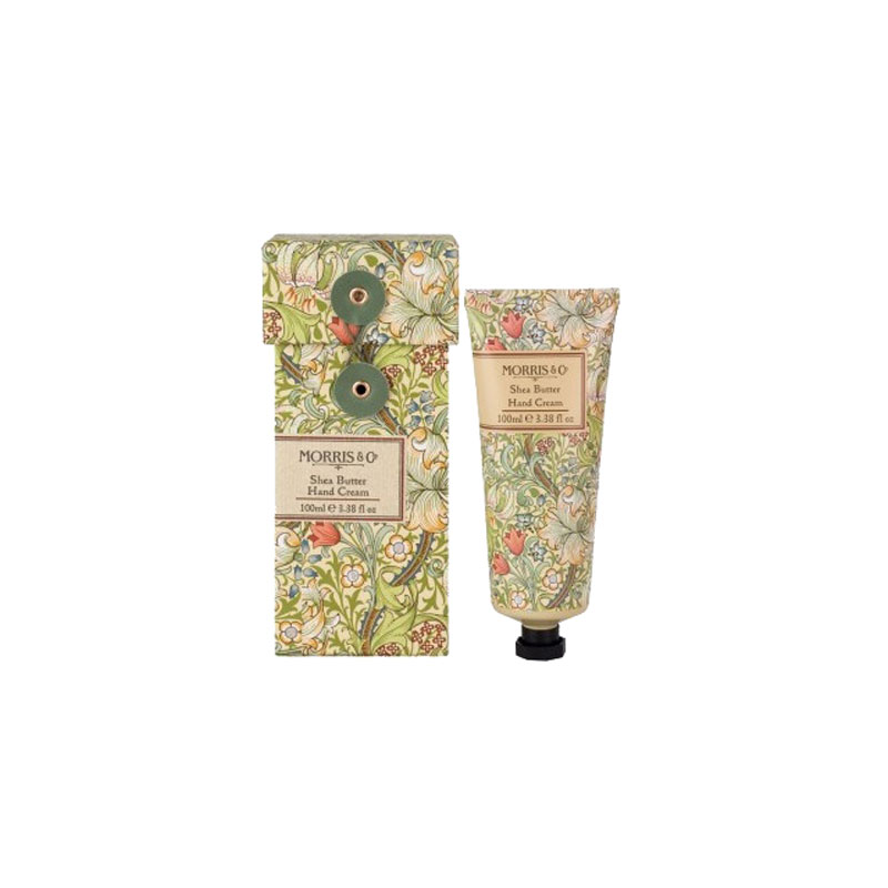 CREMA DE MANOS VERDE WILLIAM MORRIS