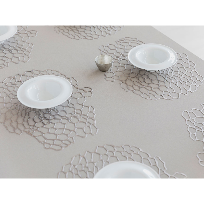 PLACEMAT SEA SILVER