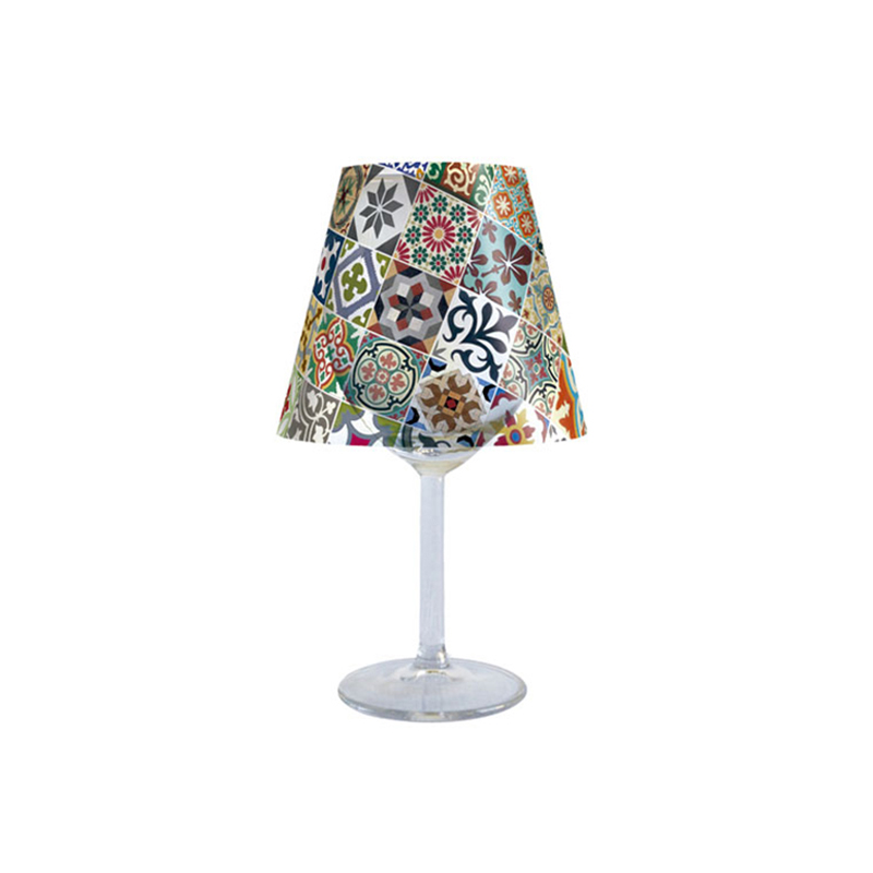 ART NOUVEAU TILES CANDLE LAMPSHADE