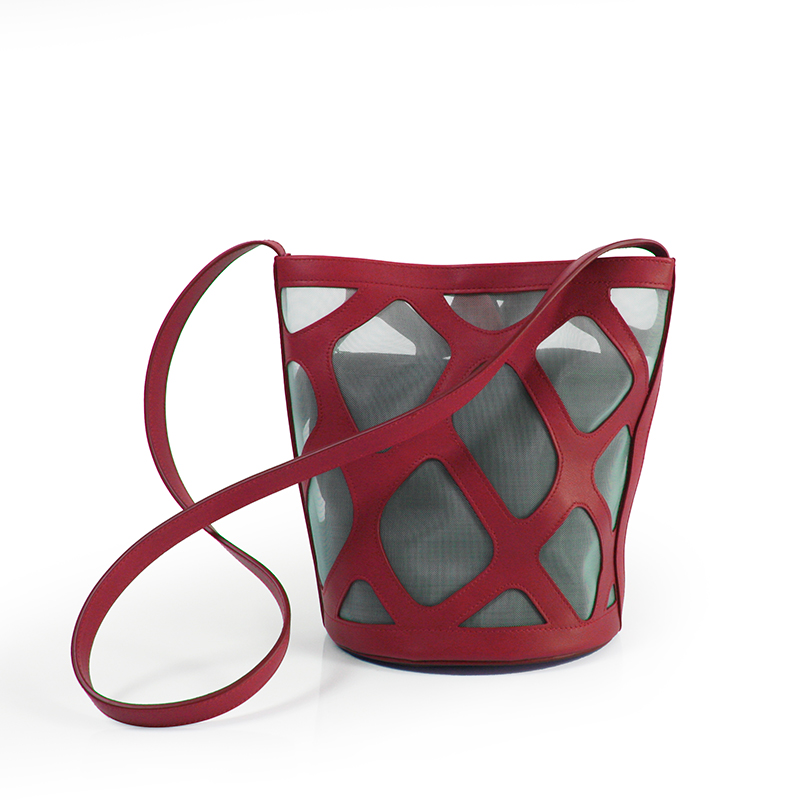 PEDRERA RED LEATHER BAG