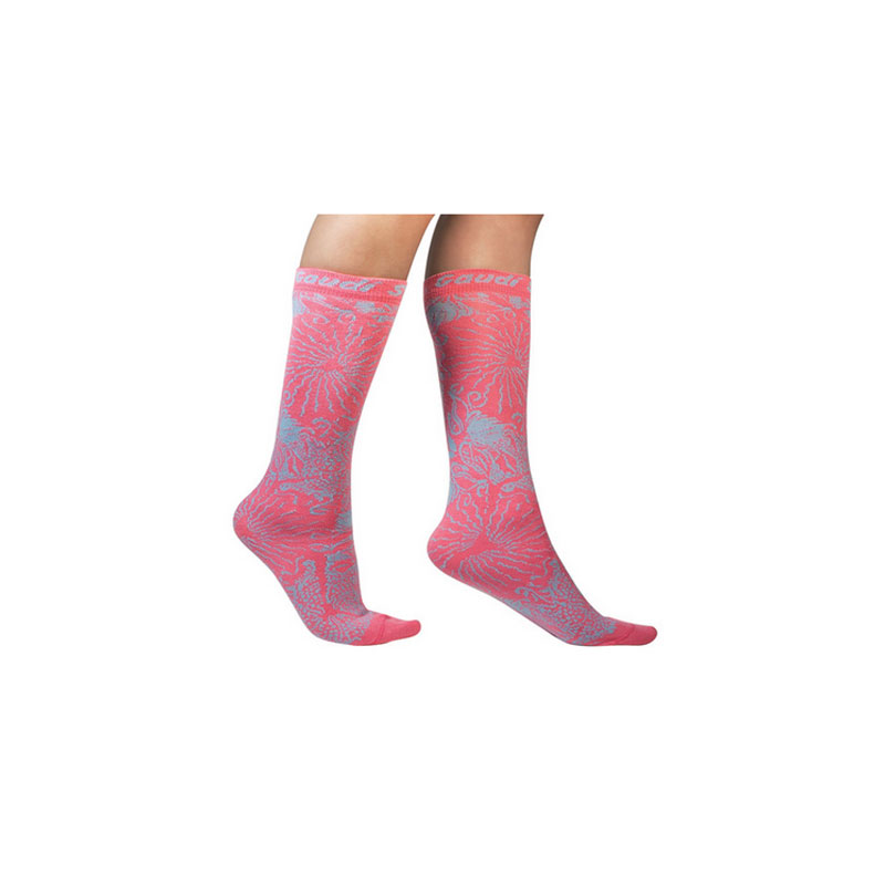 PINK AND BLUE PASSSEIG DE GRÀCIA'S TILE SOCKS